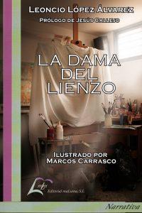 Boceto_Portada_La_Dama_del_LienzoPrueba